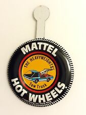 Hot Wheels Redline 1969 Heavyweights Tow Truck Button From UK Factory Roll