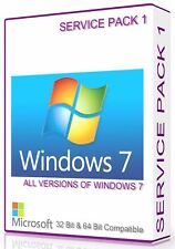 MICROSOFT Windows 7 Service Pack 1 32 + 64 Bit compatibile