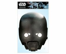 K-2SO Official Star Wars Rogue One Single 2D Card Party Face Mask droid sci fi