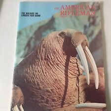 American Rifleman Magazine Walrus No Longer Fair Game February 1973 060517nonrh