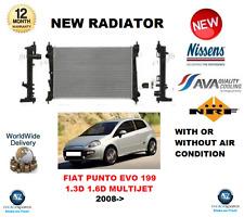 Para Fiat Punto Evo 199 1.3D Multijet 1.6D Multijet 2008 > Calidad OE Radiador Nuevo