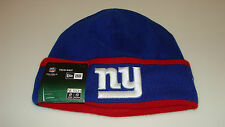Mens New York Giants New Era On-Field Tech Sideline Cuffed Knit Hat Cap NFL
