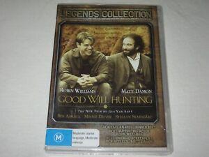 Good Will Hunting - Matt Damon - Brand New & Sealed - Region 4 - DVD