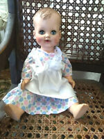 "Vintage 1950 Madam Alexander Doll Kathy Baby 16"" Blinks Drinks Wets"
