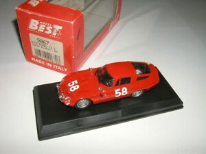 1:43 BEST 9067 Alfa Romeo TZ Targa Florio 1964 No.58 Bussinello/Todaro