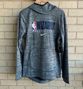 Nike NBA Washington Wizards Authentic On Court Hoodie - AV1375-032 - Size Small