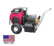 PRESSURE WASHER Commercial - 4.5 GPM - 6,000 PSI - 24 Hp Honda - GP Pump & Acc.