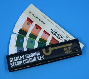 Stanley Gibbons Stamp Colour Key Stamp Color Guide - Stamp Color Gauge 2530 1974