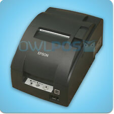 Micros Epson TM-U220B Receipt Printer Impact IDN Ports Dark Gray REFURB M188B