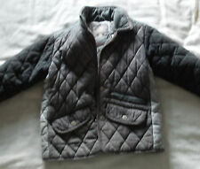 Kids Quilted Jacket by Next in Grey Age 4-5 Years