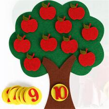 Apfelbaum Zahl Kinder Spielzeug DIY Digitale Lehre Nummer Mathematik Lernspiel