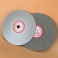 "6"" inch Grit 500# Diamond coated Flat Lap wheel Lapidary grinding polishing disc"