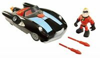 Incredibles 2 Junior Incredible Car and Mr Incredible Ages 3+ Toy Play Race Gift