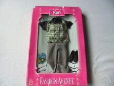 Barbie Friend Ken Fashion Avenue Asst  18099 By Mattel in 1998