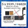 5 x 3539 (U4020) Apple iPhone 6s / 6s + / 6s Plus Backlight Control IC (16-Pin)
