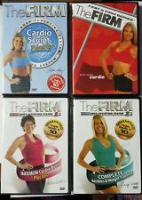 Lot of 4 THE FIRM Sculpting, Cardio, Aerobics & Weight Exercise Workout - DVD