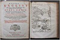1754 OPERA OMNIA Giorgio Baglivi De Tarantola medicina tarantismo Puglia ragni