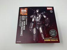Original Sci-Fi Revoltech No.031 Iron Man 2 War Machine Figure Kaiyodo NEW