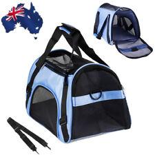 AU Portable Foldable Mesh Pet Carrier Dog Cat Soft Cage Travel Hand Shoulder Bag