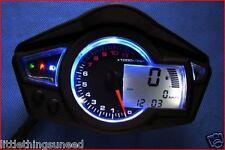 Moto, km / h, &, mph, Numérique, Indicateur de Vitesse, Honda, Yamaha, Kawasaki,12,000 tr / min
