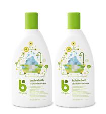 (2) Babyganics Bubble bath Chamomile Verbena 20 Fl oz Non-Allergenic