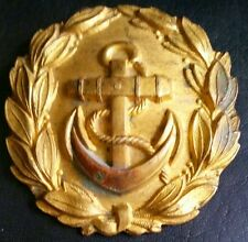 ✚6799✚ German Navy Kriegsmarine officer parade belt buckle gold WW2 Dolchkoppel