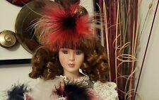 "Vintage Designs by Yoko MASQUERADE 18"" Porcelain Doll New 343/2500"