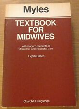TEXTBOOK FOR MIDWIVES Margaret Myles Book (1975) Paperback