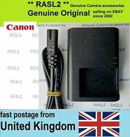Genuine CANON Charger LC-E12e LP-E12 EOS- M M2 M10 M50 100D Rebel SL1 KISS X7