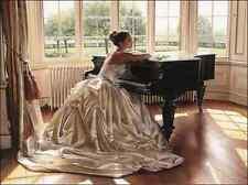 3D NOUVEAUTÉS Diamant mosaïque Full Kit Painting Square Diamond Beautiful piano