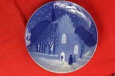 "1912 B&G Bing & Grondahl ""Going to Church on Christmas Eve"" Annual Plate"