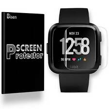 Fitbit Versa [4-PACK BISEN] HD Clear Screen Protector Guard Cover Saver Armor