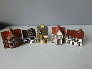 4 x Mudlen End Pottery Cottages Plus 1 Other