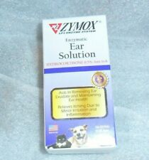 Zymox Enzymatic Ear Solution Expires 5/24 Factory Sealed Authentic Cats & Dogs