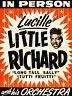 Little Richard - 1950's - Concert Poster