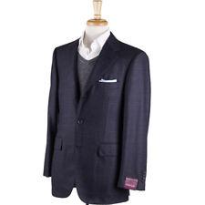 NWT $2995 SARTORIA PARTENOPEA Navy-Gray-Burgundy Check Wool Sport Coat 40 R