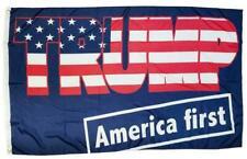 Trump America First 3x5 Flag TRUMP 2024 MAGA KAG GROMMETS