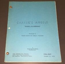 "CHARLIE'S ANGELS (1979) ""ROSEMARY, FOR REMEMBRANCE"" FINAL 60 W Pgs + COA!"