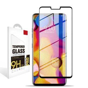 3D Curved Full Screen Cover LG V40,V50,Velvet Tempered Glass Screen Protector