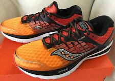 Saucony Triumph ISO 2 Orange S20290-5 Red Black Marathon Running Shoes Men's 9
