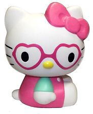 """SANRIO Hello Kitty Coin Bank - Heart Shaped Glasses Small 5"""" (New ) Licensed"""