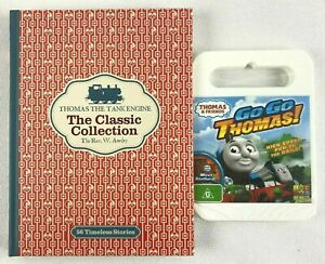 THOMAS The Tank Engine & Friends Collection Book + Go Go Thomas! DVD NEW/SEALED