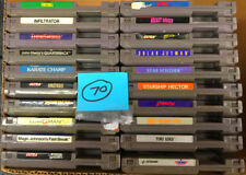 20 Nintendo NES Classic Vintage Game Cartridge Bundle Games TESTED/WORKING Lot70