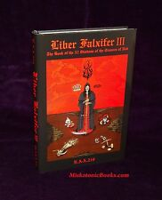 LIBER FALXIFER III by N.A-A.218, IXAXAAR, Satanic, Grimoire, Demonic, Occult