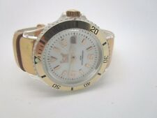 Ice-Watch White Dial  Rose Gold Leather Ladies Watch USED  (90C)