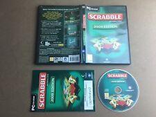 Scrabble 2009-PC CD-ROM Testé/Travail UK PAL