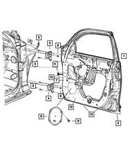 Genuine MOPAR Front Door Check 5067252AB