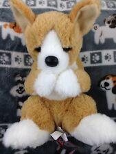 "New Douglas George CORGI Plush Toy Dog Stuffed Animal 11"" Handful of Welsh Corgi"