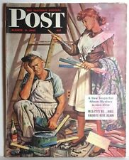 Mar 8,1947 Saturday Evening Post Magazine-Mexican Baseball/Wylie-FREE S&H