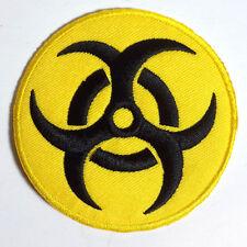 "Resident Evil Biohazard Yellow Logo- 3"" Patch- USA Mailed (REPA-120)"